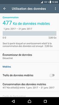 Sony Xperia XA1 Ultra - Internet et connexion - Désactiver la connexion Internet - Étape 7
