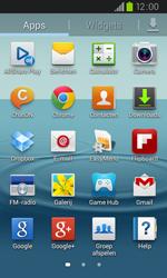 Samsung I9105P Galaxy S II Plus - E-mail - e-mail instellen: POP3 - Stap 3
