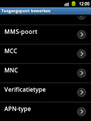 Samsung S5360 Galaxy Y - MMS - handmatig instellen - Stap 10