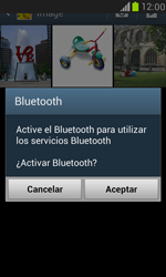 Samsung Galaxy S3 Mini - Bluetooth - Transferir archivos a través de Bluetooth - Paso 9