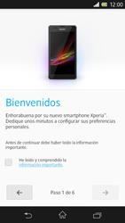 Sony Xperia Z - Primeros pasos - Activar el equipo - Paso 5