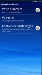 Sony Ericsson Xperia X10 - Voicemail - handmatig instellen - Stap 5