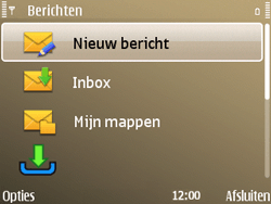 Nokia E72 - E-mail - e-mail versturen - Stap 3