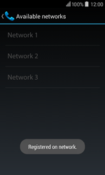 Acer Liquid Z200 - Network - Usage across the border - Step 12