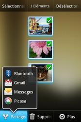 Samsung Galaxy Ace - Photos, vidéos, musique - Envoyer une photo via Bluetooth - Étape 8