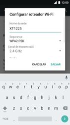 Motorola Moto Turbo - Wi-Fi - Como usar seu aparelho como um roteador de rede wi-fi - Etapa 6