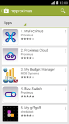 Huawei Ascend Y550 - Applications - MyProximus - Step 6