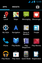Acer Liquid Z2 - Applications - Downloading applications - Step 3