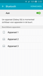 Samsung Galaxy S6 Edge - Bluetooth - Aanzetten - Stap 5