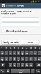 Samsung I9505 Galaxy S IV LTE - E-mail - Configuration manuelle - Étape 7