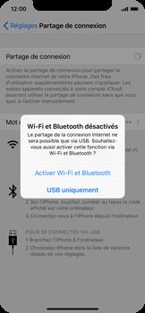 Apple iPhone X - Internet et connexion - Partager votre connexion en Wi-Fi - Étape 7