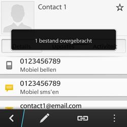 BlackBerry Q5 - Contacten en data - Contacten overzetten via Bluetooth - Stap 9