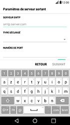 LG X Power - E-mail - Configuration manuelle - Étape 12