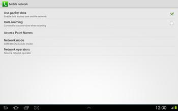 Samsung P5100 Galaxy Tab 2 10-1 - Internet - Manual configuration - Step 7