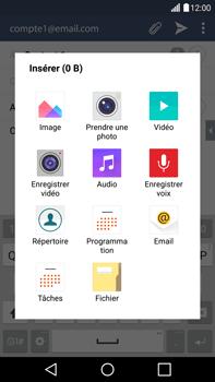 LG H815 G4 - E-mail - Envoi d