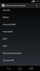 Motorola Moto E (1st Gen) (Kitkat) - Internet (APN) - Como configurar a internet do seu aparelho (APN Nextel) - Etapa 14
