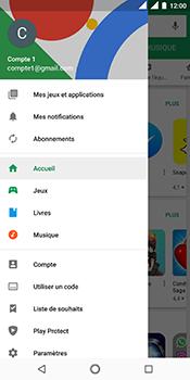 Nokia 5.1 - Applications - comment vérifier si des mises à jour sont disponibles pour l'appli - Étape 5