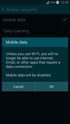 Samsung G850F Galaxy Alpha - Internet - Disable mobile data - Step 7