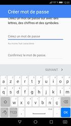 Huawei P9 - Android Nougat - Applications - Créer un compte - Étape 11