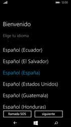 Microsoft Lumia 535 - Primeros pasos - Activar el equipo - Paso 5