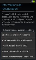 Samsung Galaxy S2 - Premiers pas - Créer un compte - Étape 17