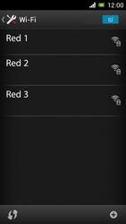 Sony Xperia J - WiFi - Conectarse a una red WiFi - Paso 6