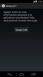 Motorola Moto X (2014) - Funções básicas - Como restaurar as configurações originais do seu aparelho - Etapa 9