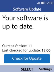 Nokia 8110 Banana - Device - Software update - Step 9