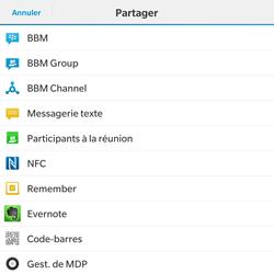 BlackBerry Passport - Internet - Navigation sur internet - Étape 17