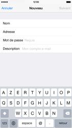 Apple iPhone 6 iOS 8 - E-mail - Configurer l