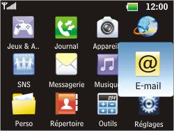 LG C360 Golf - E-mail - Envoi d