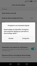 Huawei Nova - Sécuriser votre mobile - Activer le code de verrouillage - Étape 9