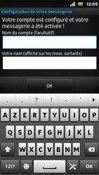 Sony ST25i Xperia U - E-mail - Configuration manuelle - Étape 16