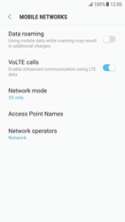 Samsung G920F Galaxy S6 - Android Nougat - Network - Enable 4G/LTE - Step 6