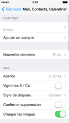 Apple iPhone 5 iOS 7 - E-mail - Configuration manuelle - Étape 14