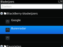 BlackBerry 9900 Bold Touch - Internet - Hoe te internetten - Stap 9