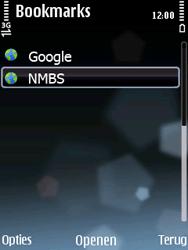 Nokia E75 - Internet - Hoe te internetten - Stap 12