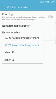 Samsung Samsung G928 Galaxy S6 Edge + (Android M) - Netwerk - Wijzig netwerkmodus - Stap 6