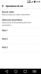 LG K4 (2017) - Red - Seleccionar una red - Paso 10