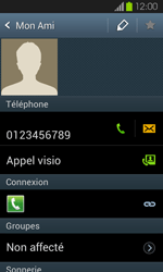 Samsung Galaxy S2 - Contact, Appels, SMS/MMS - Ajouter un contact - Étape 8