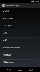 Motorola Moto G - Mms - Manual configuration - Step 11
