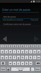 Samsung G900F Galaxy S5 - Applications - Créer un compte - Étape 10