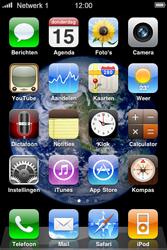 Apple iPhone 3G S - Buitenland - Bellen, sms en internet - Stap 7