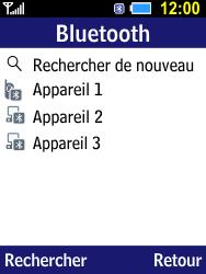Samsung B550H Xcover 550 - Bluetooth - connexion Bluetooth - Étape 11