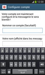 Samsung S7275 Galaxy Ace III - E-mail - Configuration manuelle - Étape 18