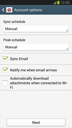 Samsung I9300 Galaxy S III - E-mail - Manual configuration (yahoo) - Step 7