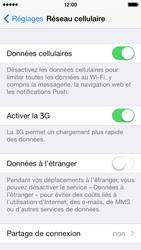 Apple iPhone 5 - Aller plus loin - Désactiver les données à l'étranger - Étape 5