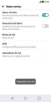 LG G6 - Red - Seleccionar una red - Paso 10