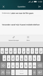 Huawei Y635 Dual SIM - E-mail - E-mails verzenden - Stap 10