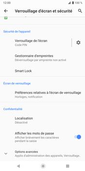 Sony Xperia XZ3 - Sécurité - activéz le code PIN de l'appareil - Étape 12